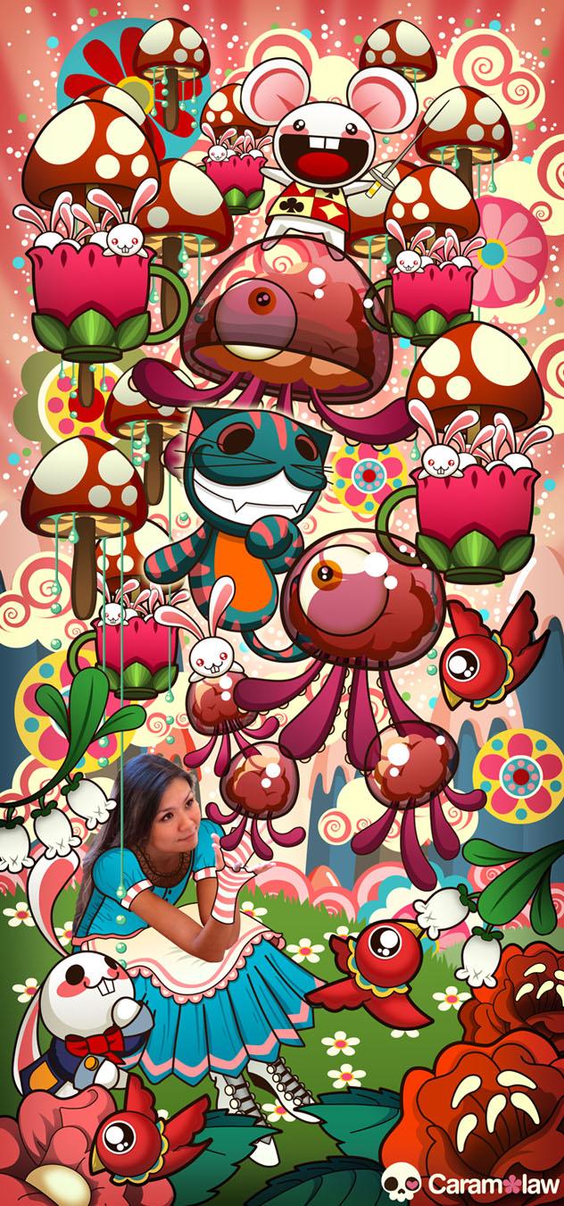 Caramelaw in Wonderland by caramelaw