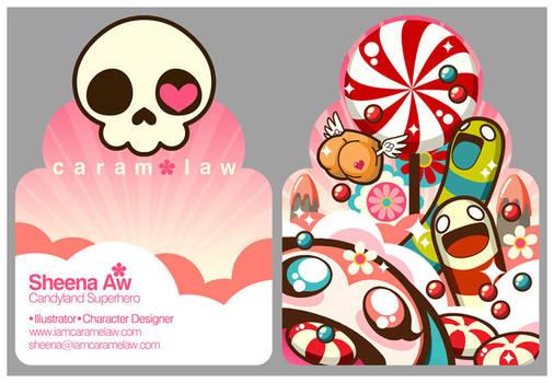 Candy namecard