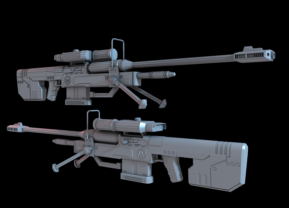 halo 3 sniper rifle by martynball on deviantart. Black Bedroom Furniture Sets. Home Design Ideas