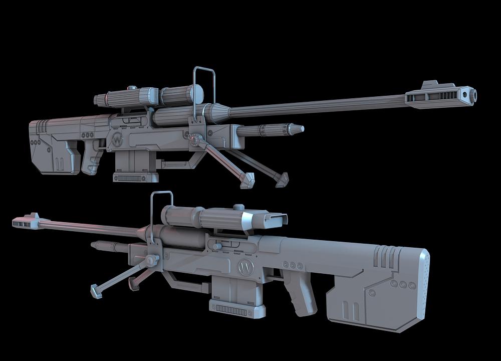 halo 3 sniper rifle by martynball on deviantart. Black Bedroom Furniture Sets. Home Design Ideas