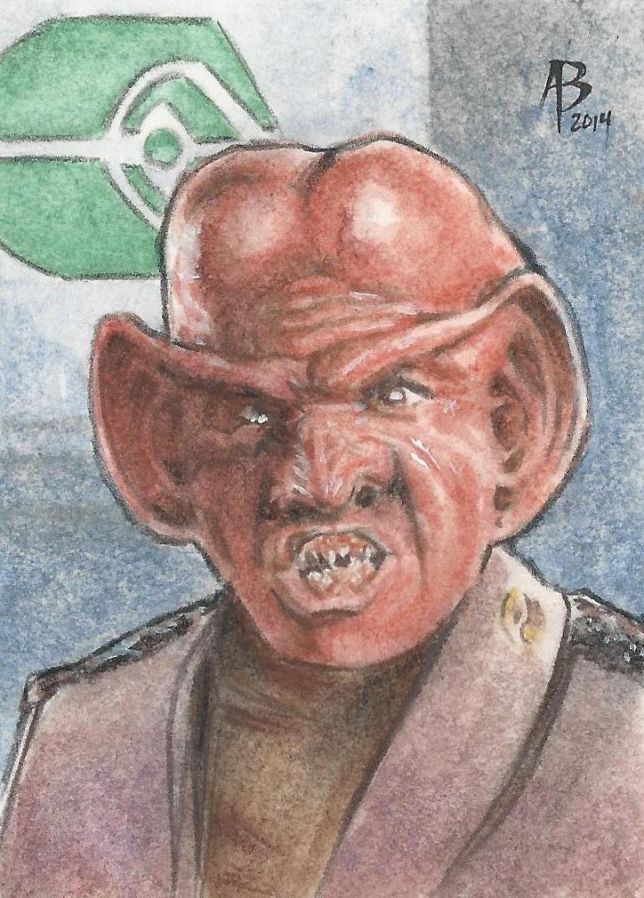 Ferengi card by abraun