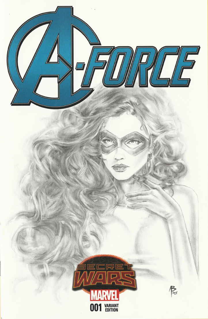 A-Force Medusa sketch cover by abraun
