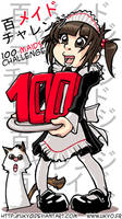 100 Maids Challenge by Uky0