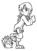 Hinata and the Stalking Ninja by Uky0