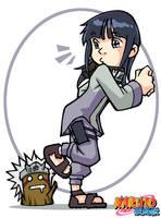 Naruto Shippuden: Hinata color by Uky0