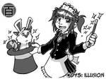 100 maids challenge - 045