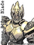 Kamen Rider Blade - pic-sketch