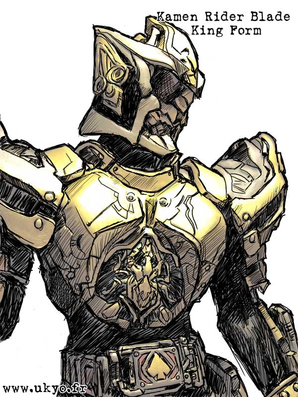 Kamen Rider Blade - K profile by Uky0