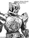 Kamen Rider Blade - bw