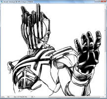 WIP: Kamen Rider Decade by Uky0