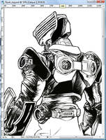 WIP: Kamen Rider Ryuki by Uky0