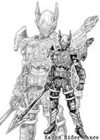 Kamen Rider Lance by Uky0