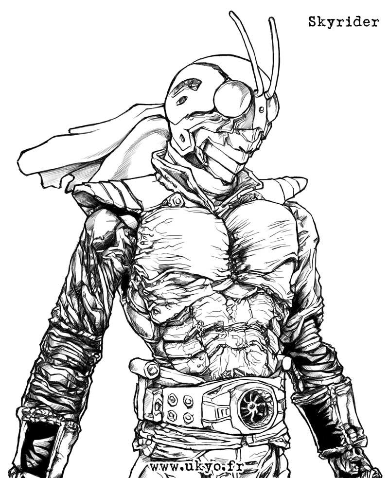 Resultado de imagem para Kamen Rider x draw
