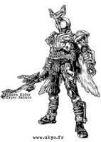 Kamen Rider Hyper Kabuto by Uky0