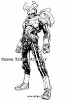 Kamen Rider Stronger by Uky0