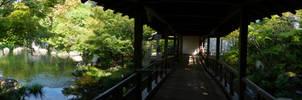 Himeji Garden - Panorama