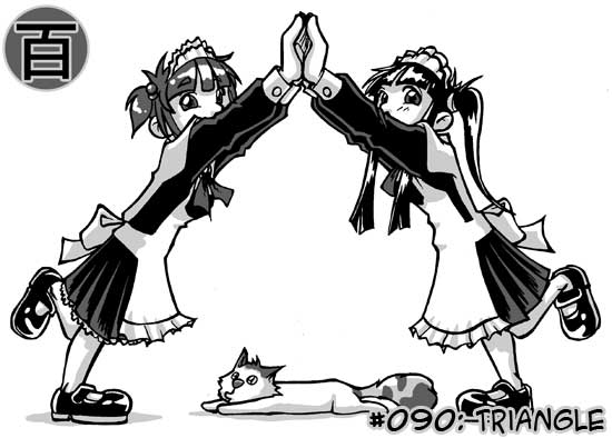 100 maids challenge - 090 by Uky0