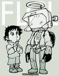 FLCL - Cantide and Naota