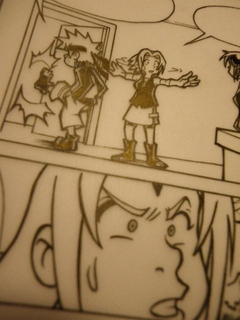 Gaara + Rock Lee: Wip page 4 by Uky0