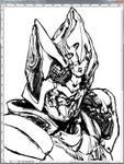 WIP: Kamen Rider Blade King by Uky0