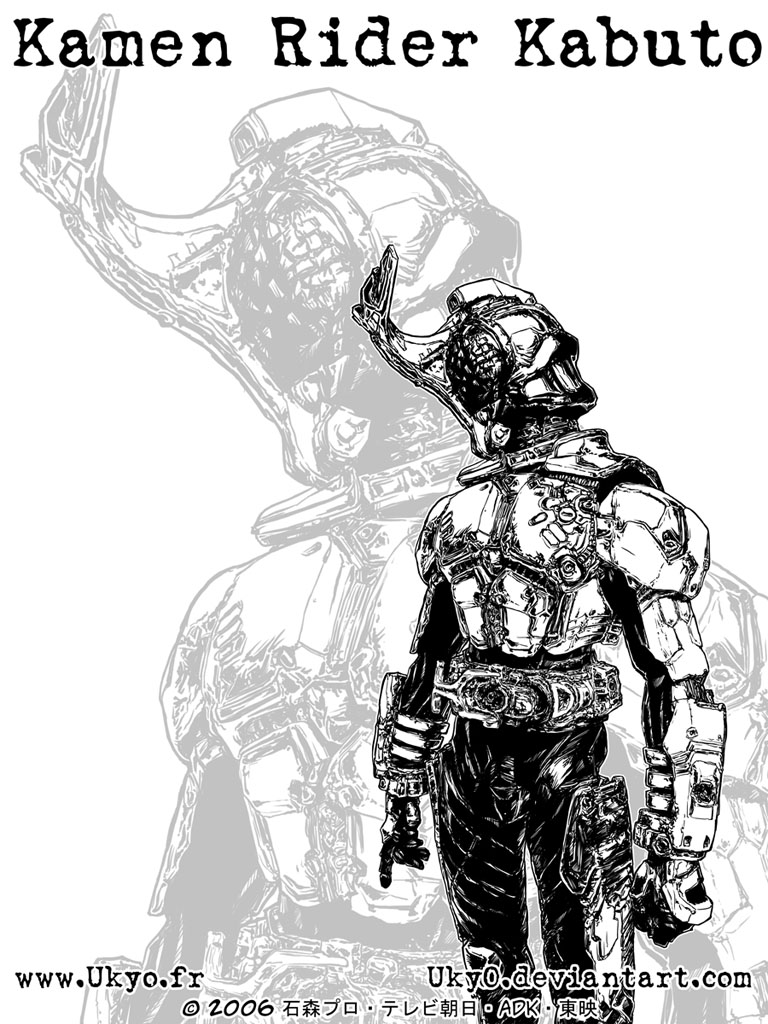 Kamen Rider Kabuto -Rider form by Uky0 on DeviantArt