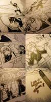 Naruto doujinshi various wip 2