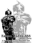 Kamen Rider 555 - Accel Form 2 by Uky0