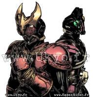 Kamen Rider Kuuga and Decade