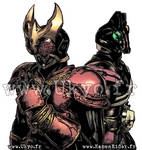 Kamen Rider Kuuga and Decade