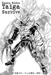 Kamen Rider Taiga Survive by Uky0