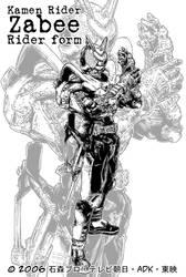 Kamen Rider Zabee by Uky0