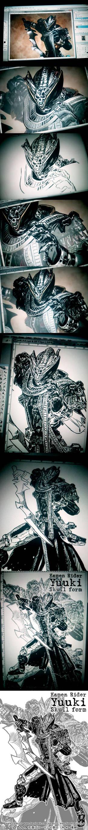 SIC Kamen Rider Yuuki - Step by Step by Uky0