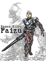 Kamen Rider 555 Blast form by Uky0