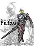 Kamen Rider 555 Blast form