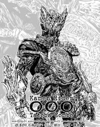 Kamen Rider OOO Tatoba Combo by Uky0