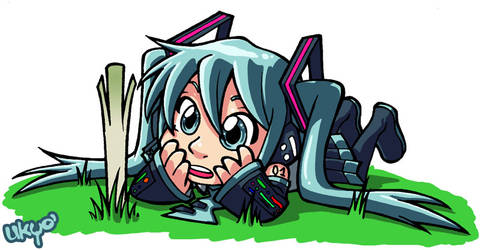 Hatsune Miku by Uky0