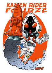 Kamen Rider Fourze ! To Space and Beyond ! by Uky0