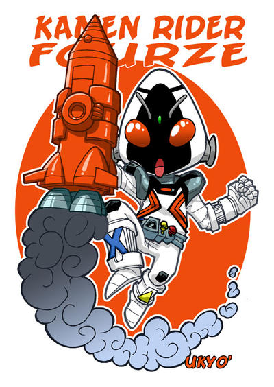 Kamen Rider Fourze ! To Space and Beyond !