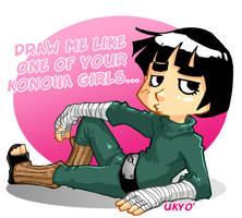Draw me like one of your Konoha girls...