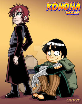Konoha Gaiden: Rock Lee + Gaara