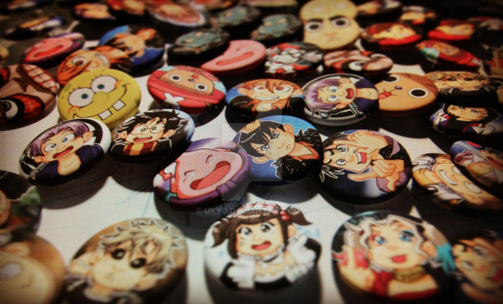 Buttons ! Buttons everywhere ! by Uky0