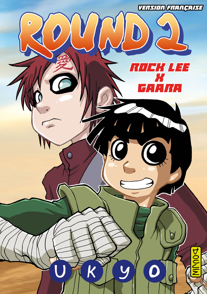 Round2 RockLee x Gaara (Naruto Shippuden doujin) by Uky0