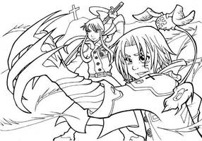 D Gray man by Uky0