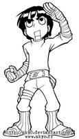 Naruto line series - Rock Lee
