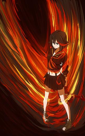 Matoi Ryuko by Ayanashii