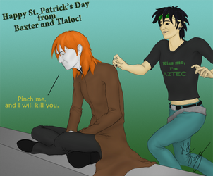 Happy St Patty's Day-GF style by KitFang
