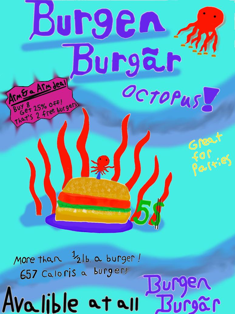 Burgen Burgar Octopus by Cool-blade-mc--dark