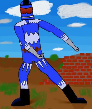 Masked Blue Hero: Law