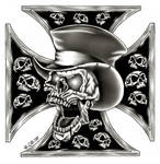 Scull and iron cross for Jim