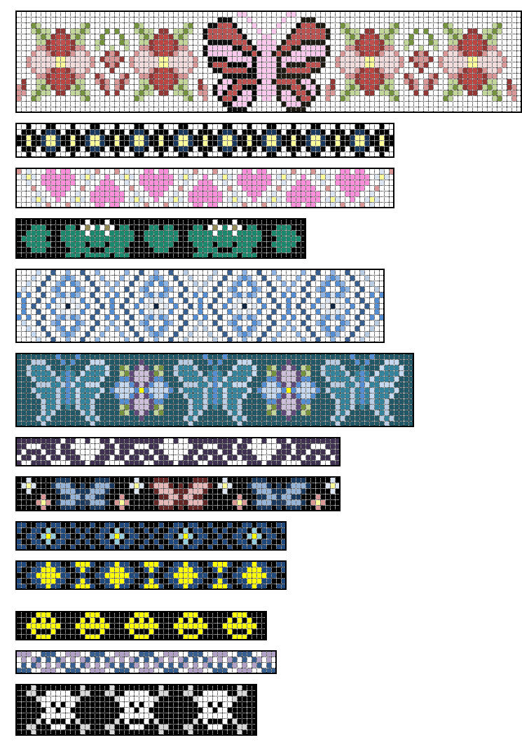 loom beading patterns by kribabe on deviantart